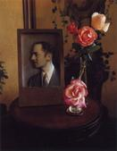 William Powell Arrangement, 1985     Polaroid. 5 1/4 x 4 1/4 inches
