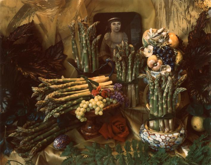 Asparagus I, 1967     Polaroid. 4 1/4 x 5 1/2 inches