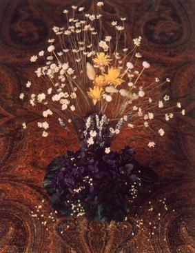 Mrs. Jack's Floral, 1966     Dye transfer print. 9 x 6 1/2 inches
