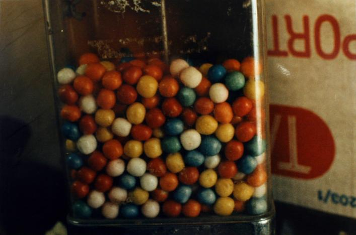 Gum Balls, 1987 Chromogenic print, printed c. 1987. 16 x 20 inches