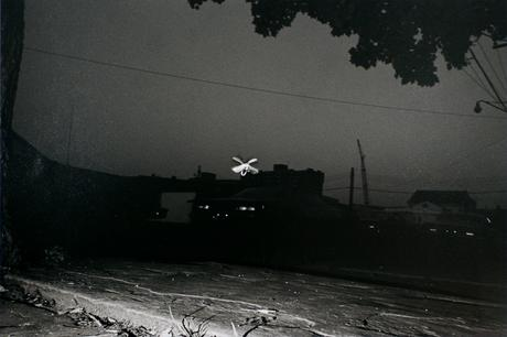 Firefly, Wilkes-Barre, June 1976 Gelatin silver print, printed 1976. 16 x 20 inches