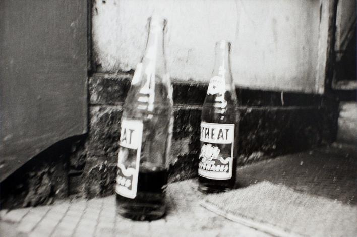 Two Bottles, 1973 Gelatin silver print, printed 1973. 16 x 20 inches