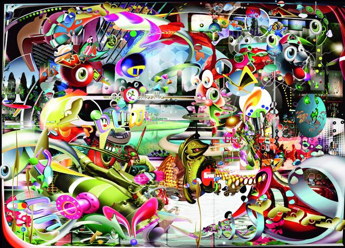 6.3DayChemicalHoliday, 2008 Chromogenic print. 70 x 98 inches