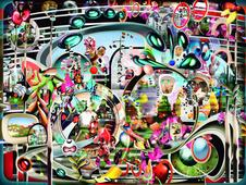 CandylandTV, 2008 Chromogenic print. 38 x 51 inches