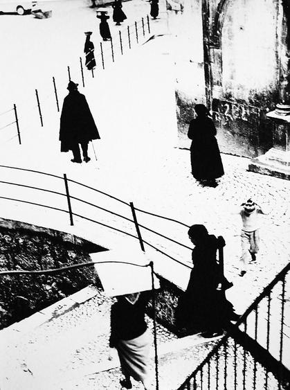 Scanno,1957-59 Gelatin silver print, printed later 14 x 11 inches