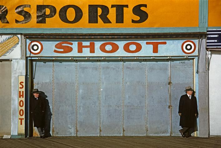 Marvin Newman Coney Island II, 1953 Archival inkjet print. 13 x 19 inches