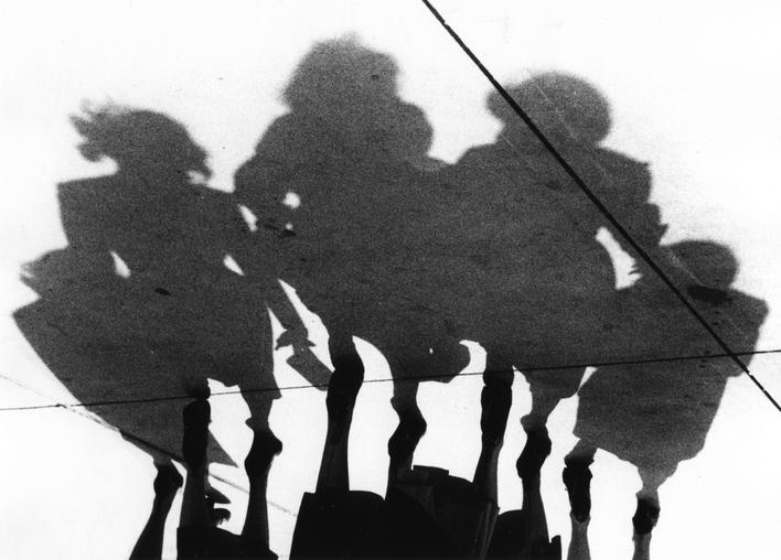 Untitled (Shadows), 1951 Gelatin silver print, printed c. 1951 16 x 20 inches