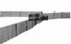 Untitled (Three Fences), 1953 Gelatin silver print, printed c. 1953 6 x 10 1/2 inches