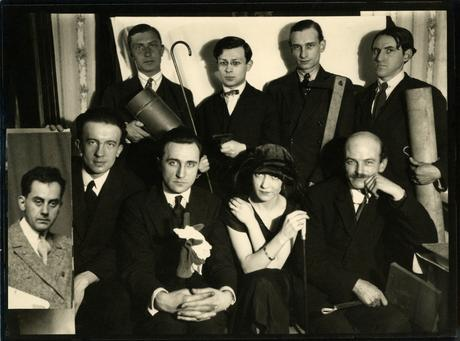 Man Ray (1890-1976) Dada Group, 1921-1922     Gelatin silver print collage, printed c. 1922 7 x 9 1/2 in. (17.8 x 24.1 cm)
