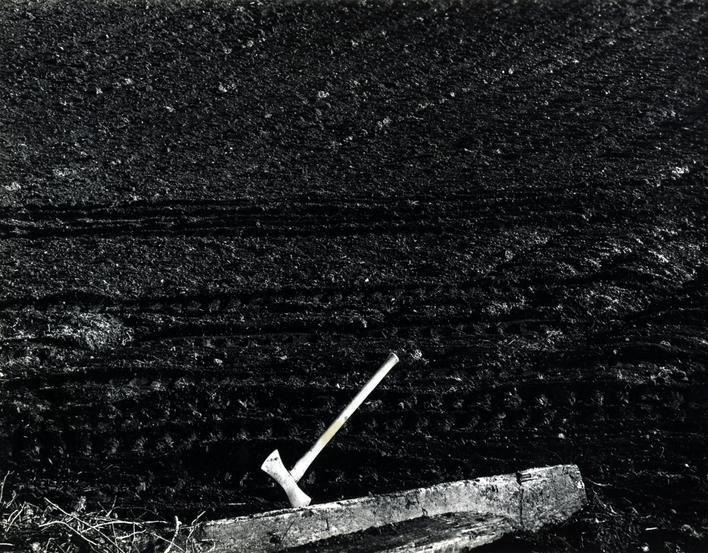 Axe, c. 1950 Gelatin silver print mounted to board, printed c. 1950 7 x 9 inches
