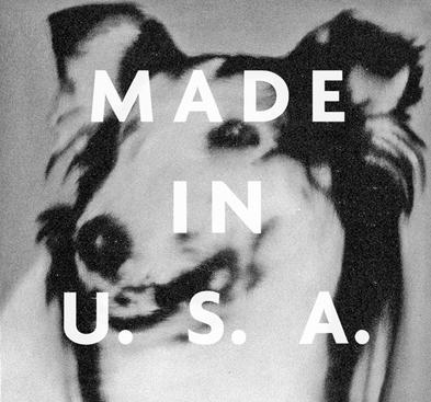 Hundekopf (Lassie), 1965 + Made in the U.S.A., 1976, from Richtered, 2012