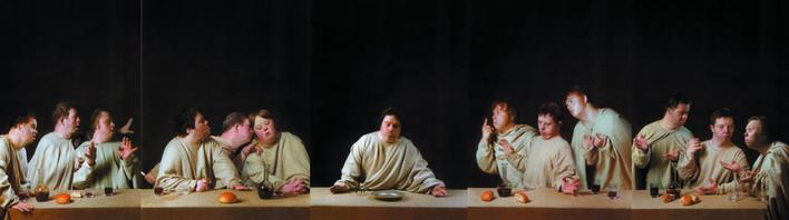 Raoef Mamedov Last Supper, 1998 Lambda print