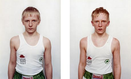 Nicolai Howalt  Mark Wierenfeld, 2001    Chromogenic prints. 23 5/8 x 19 1/4 inches each