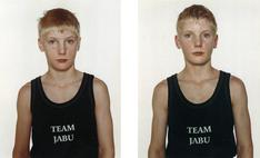 Nicolai Howalt  Jan Linderoth, 2001    Chromogenic prints. 23 5/8 x 19 1/4 inches each