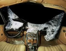 Car Crash Studies, Interiors #9, 2009 Chromogenic print