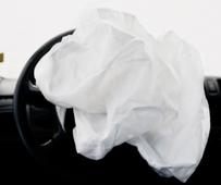 Car Crash Studies, Airbags #8, 2009 Digital C-print mounted to aluminum