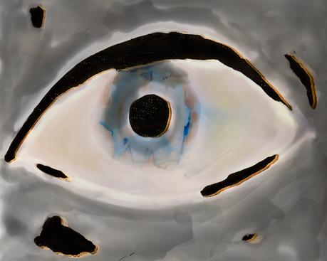 Brea Souders Pale Eye, 2015 Archival Inkjet print