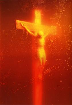 Andres Serrano Piss Christ, 1987 Chromogenic print 30 x 40 inches