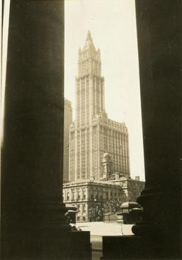 New York City Buildings, c. 1930s Gelatin silver print, printed c. 1930s 3 5/8 x 2 1/2 inches