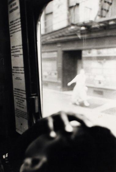 Bus, 1958 Gelatin silver print, printed c. 1958 14 x 11 inches