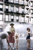 Ruth Orkin Mother and Child in Water, NYC, c. 1950 Archival inkjet print, printed 2010.  14 x 11 inches