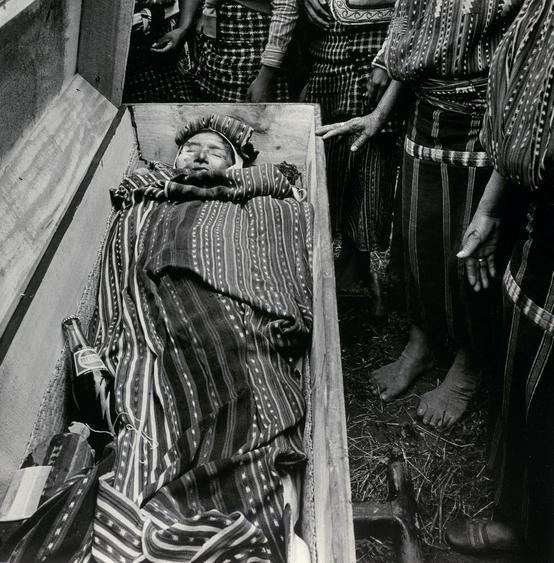 Burial, Soloia, Guatemala, 1979 Gelatin silver print, printed 1993 20 x 16 inches