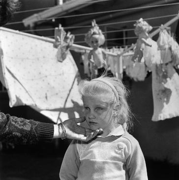 Blind Girl with Dolls, South Africa, 1990 Gelatin silver print, printed 1990 20 x 16 inches