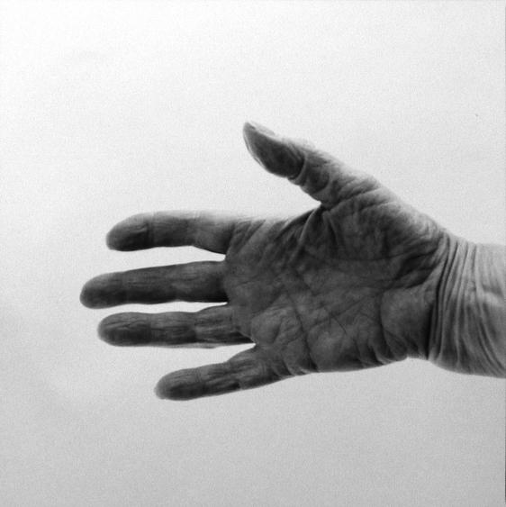 Hand, Macdowell, Peterborough, NH, 2002 Gelatin silver print, printed 2002 20 x 16 inches