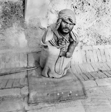 Prayer Beads, Katmandu, Nepal, 1985 Gelatin silver print, printed c. 1985 19 3/4 x 15 7/8 in.