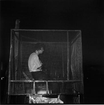 Dunking Cage, Georgia, 1976 Gelatin silver print, printed c. 1976 19 3/4 x 15 7/8 in.