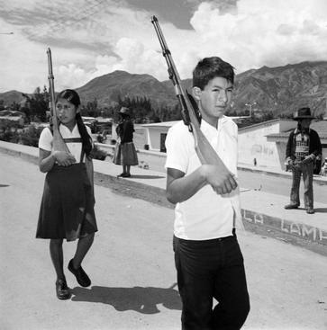 Rosalind Fox Solomon, Independence Day, New Yungay, Peru, 1980