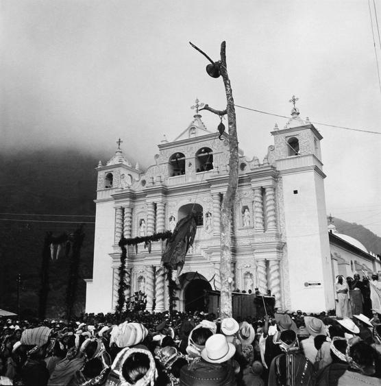 Passion Play, Zunil, Guatemala, 1979 Gelatin silver print, printed c. 1986 19 3/4 x 15 7/8 in.
