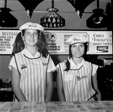 Melanie and Lisa, Mississippi, 1977 Gelatin silver print, printed c. 2007 19 3/4 x 15 7/8 in.