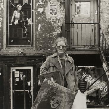 Rosalind Fox Solomon, An East Village Painter, New York, NY, 1986