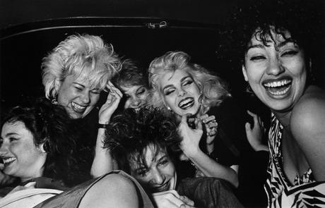 Ryan Weideman Six Girls Crack Up, 1982 Gelatin silver print 16 x 20 inches