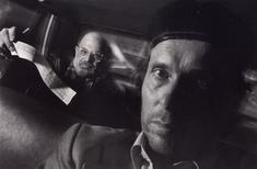 Self-Portrait with Passenger Allen Ginsberg, 1990 Gelatin silver print 16 x 20 inches Edition of 10 Signed, titled, and dated on verso $5,000 Inquire