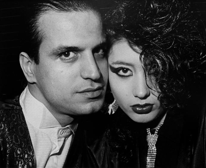 Ryan Weideman Close Up Vampire With Nymphette, 1986 Gelatin silver print 16 x 20 inches