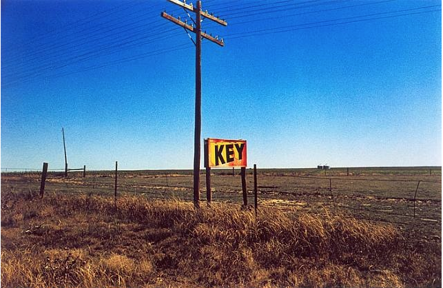Untitled (Key) from Lost and Found, 1965-1974 Dye-transfer print