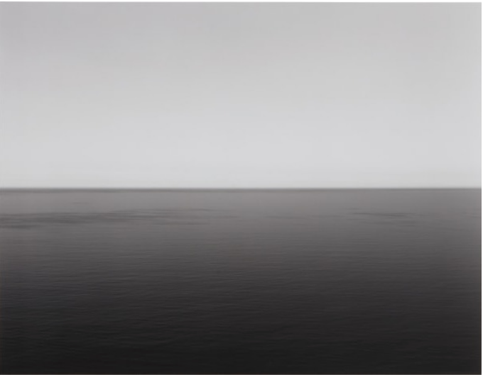 Hiroshi Sugimoto English Channel, Weston, Cliff, 1994 Gelatin silver print