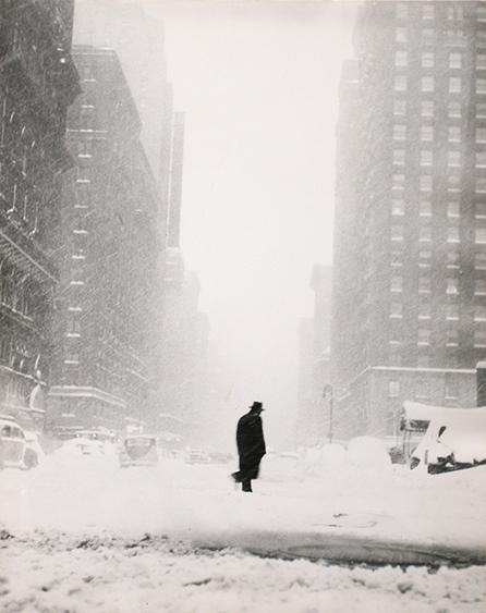 Little Man in Snow, 1947 Gelatin silver print, printed c. 1947