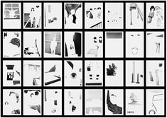 Less Americains, Grid of 32 prints shown Gelatin silver prints 11 1/2 x 8 in. each