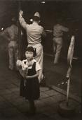 On the Ginza, Tokyo, Japan, 1951 Gelatin silver print mounted to board 13 1/2 x 9 1/4 inches