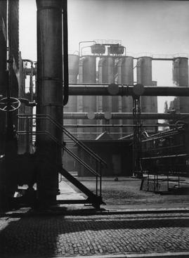 Industry in Geleen, Holland, 1938 Gelatin silver print, printed c. 1938 15 1/2 x 11 1/2 inches
