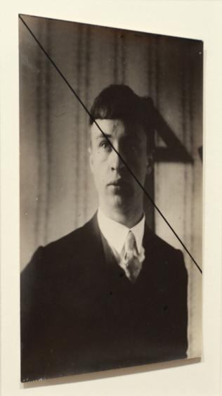 Self Portrait, 1929 Gelatin silver print, printed c. 1929 3 1/4 x 5 3/4 inches
