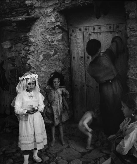 Spanish Village, 1950 Gelatin silver print mounted to board, printed no later than 1960 12 1/2 x 9 1/2 inches