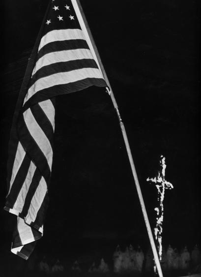 Ku Klux Klan, 1951 Gelatin silver print mounted to board, printed c. 1951 13 1/4 x 9 1/2 inches