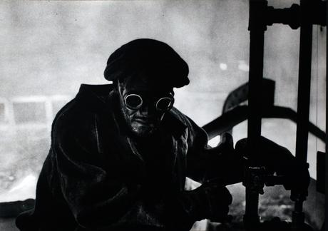 Pittsburgh, Steel Worker, c. 1955-56 Gelatin silver print, printed c. 1955-56 16 x 20 inches