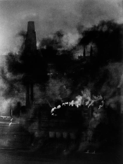 Pittsburgh, Smoky City, Steel Plant, c. 1955-56 Gelatin silver print, printed c. 1955-56 8 1/2 x 6 inches