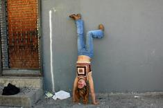 Melissa's Handstand, 2001-2008 Archival inkjet print 20 x 30 inches