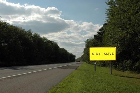 Stay Alive, 2001-2008 Archival inkjet print 20 x 30 inches